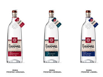 Продукция Organic Vodka Group. Фото с сайта компании