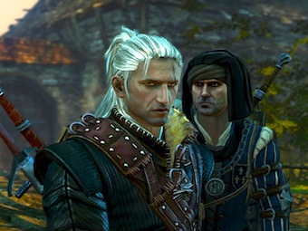 Скриншот из игры The Witcher 2: Assassins of Kings