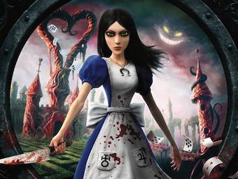 Фрагмент обложки Alice: Madness Returns