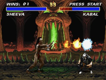 Скриншот из Ultimate Mortal Kombat 3