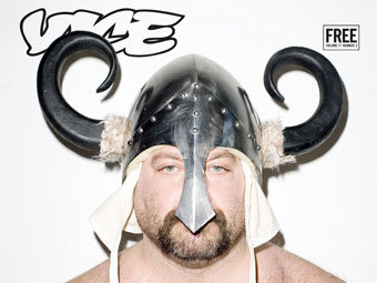 Одна из обложек журнала Vice