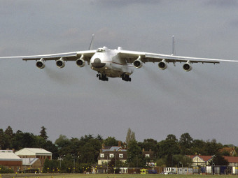 "Ан-225 ""Мрия"". Фото с сайта widebodyaircraft.nl"
