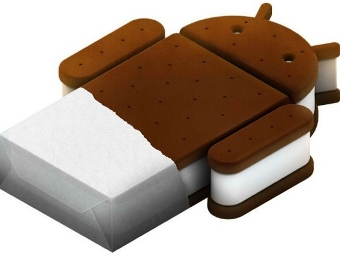 Логотип Android Ice Cream Sandwich
