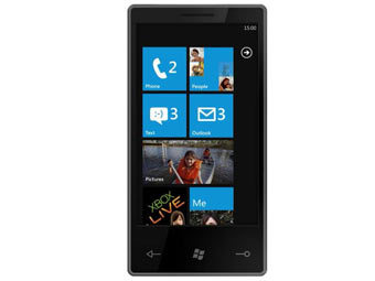 Смартфон с Windows Phone 7