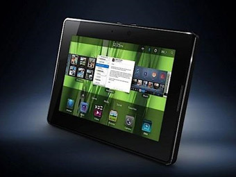 BlackBerry PlayBook. Фото пресс-службы RIM