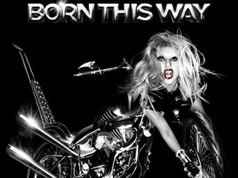 "Обложка стандартного издания ""Born This Way"""