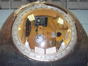 Спускаемый аппарат Юрия Гагарина. Фото с сайта hrono.ru
