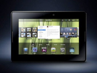 BlackBerry PlayBook. Изображение BlackBerry