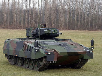 БМП Puma с броней AMAP-SC производства Rheinmetall. Фото с сайта ibd-deisenroth-engineering.de