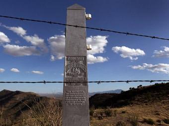 Граница штата Техас и Мексики. Фото (c)AFP