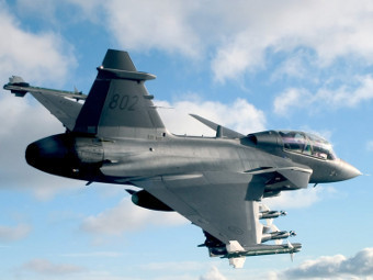 Saab JAS 39 Gripen. Фото с сайта defenseindustrydaily.com