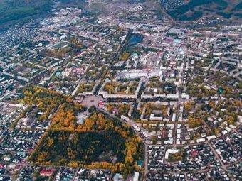 Вид на Октябрьский. Фото с сайта городской администрации