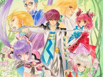 Арт к игре Tales of Graces