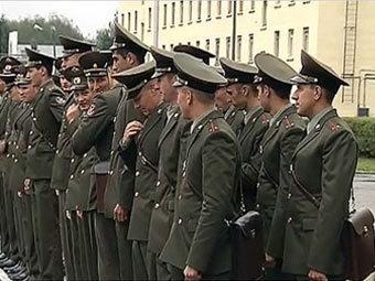Офицеры ВС РФ. Кадр Первого канала