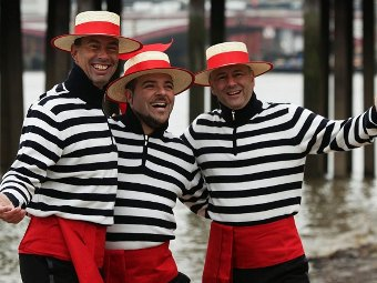 Трио гондольеров The Gondoliers. Фото с сайта belfasttelegraph.co.uk