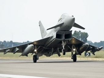 Eurofighter Typhoon ВВС Италии. Фото с сайта eurofighter.com