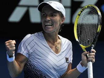 Светлана Кузнецова на Australian Open. Фото (c)AFP
