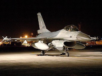 F-16 Fighting Falcon. Фото с сайта lockheedmartin.com