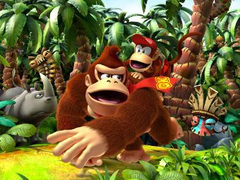 Арт к игре Donkey Kong Country Returns