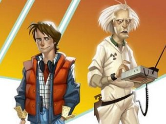 Арт к Back to the Future: The Game