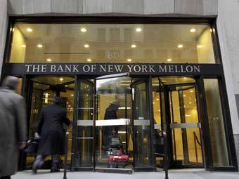 Здание Bank of New York Mellon. Фото (c)AFP