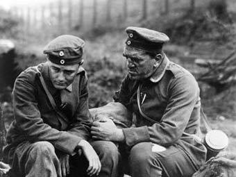 """Кадр из фильма """"На Западном фронте без перемен"""", 1930 год"""