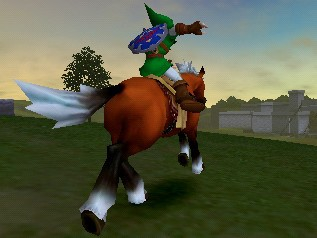 Скриншот The Legend of Zelda: Ocarina of Time 3D