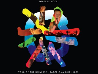 "Фрагмент обложки DVD ""Tour of the Universe - Live In Barcelona"""