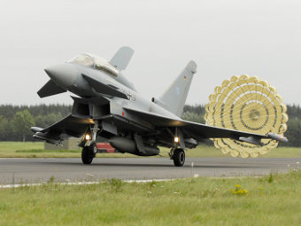 Eurofighter Typhoon ВВС Германии. Фото с сайта eurofighter.com