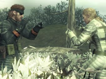 Скриншот Metal Gear Solid Snake Eater 3D: The Naked Sample