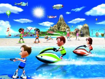 Арт к игре Wii Sports Resort