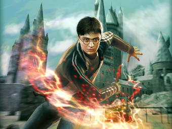 Арт к игре Harry Potter and the Half-Blood Prince