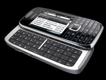 Nokia E75. Фото пресс-службы Nokia