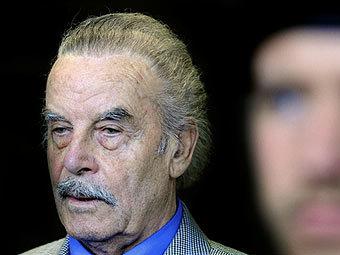 Йозеф Фритцль на оглашении приговора. Фото (c)AFP