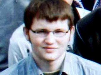 Тим Кречмер. Фото школьных лет, переданное в эфире Sky News