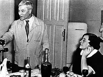 Борис Пастернак с супругой, 1958 год. Фото из архива (c)AFP