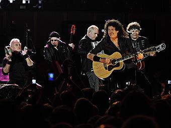 Выступление Queen+Paul Rodgers. Фото предоставлено lifemustgoon.net