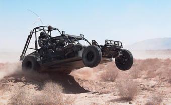 Боевые багги в пустыне. Фото с сайта armyrecognition.com