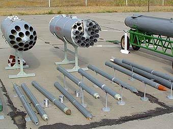 НАР С-8 различных модификаций. Фото с сайта www.take-off.ru