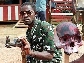 Соратник Чарльза Тейлора в 1997 году. Архивное фото AFP
