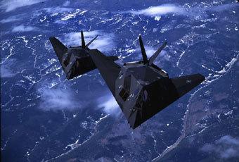 Самолет F-117A. Фото с официального сайта ВВС США
