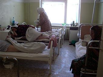 Палата в Тарусской больнице. Фото из презентации с сайта tarusa-hospital.org