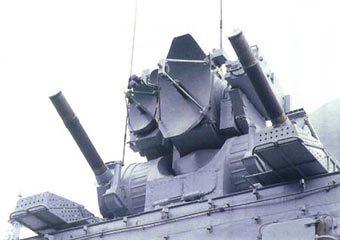 """Комплекс """"Каштан"""". Фото с сайта pvo.guns.ru"""