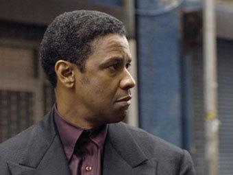 "Дензел Вашингтон в роли Фрэнка Лукаса. Кадр из фильма ""Американский гангстер"" с сайта rottentomatoes.com"