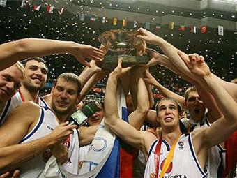 Сборная России. Фото eurobasket2007.org