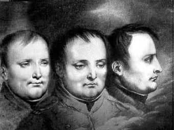 Этюды к портрету Наполеона, сделанные Анн-Луи Жироде. Репродукция с сайта empereurperdu.com
