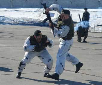 Российские морские пехотинцы. Фото с сайта МО РФ