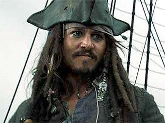 "Кадр из фильма ""Пираты Карибского моря. На краю света"""