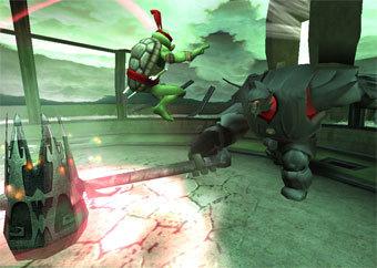Скриншот игры Teenage Mutant Ninja Turtles