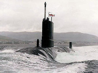 HMS Tireless. Фото с сайта mod.uk